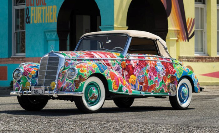 Живописный Mercedes-Benz арт-художника Хиро Ямагата
