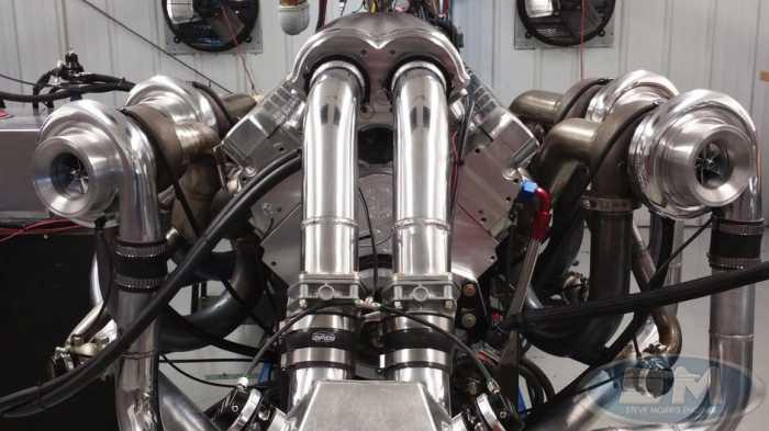 Первая в истории V16 с четырьмя турбокомпрессорами.