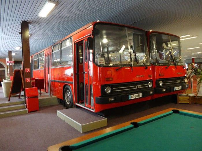 автобусы кафе фото