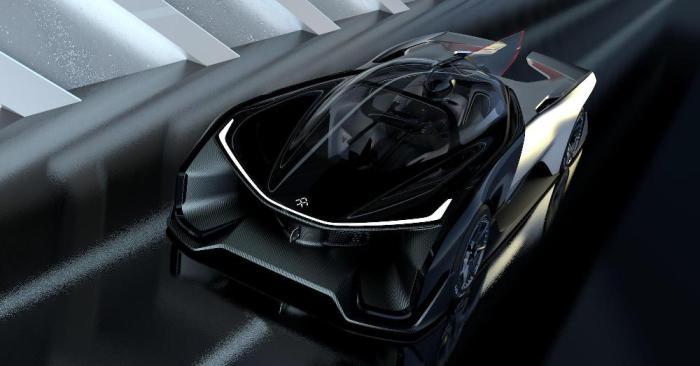Faraday Future FFZERO1 существует пока в единственном, выставочном экземпляре. А большинство изображений – всего лишь 3D модели.