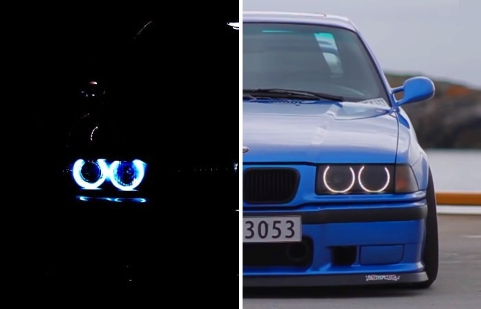 Ночью все автомобили выглядят совсем по-другому.