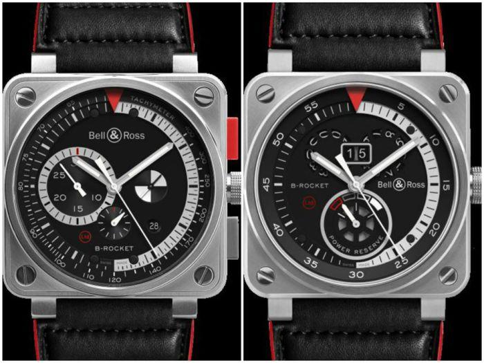 Часы серии B-Rocket от французской фирмы Bell & Ross.