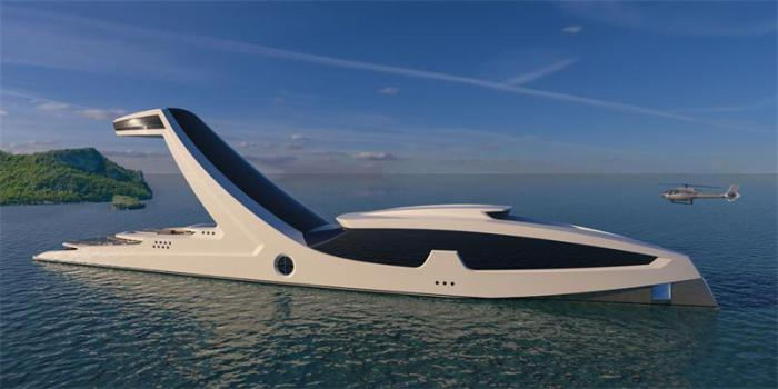Крутой концепт суперяхты Shaddai от итальянского дизайнера Габриэле Теруцци.