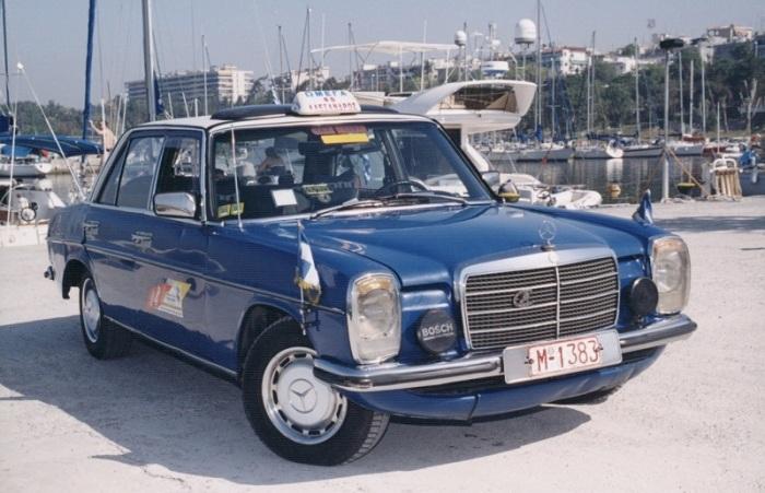 Фотография автомобиля Mercedes-Benz 240D 1976 года выпуска, который проехал 4,6 миллиона километров. | Фото: cheatsheet.com.