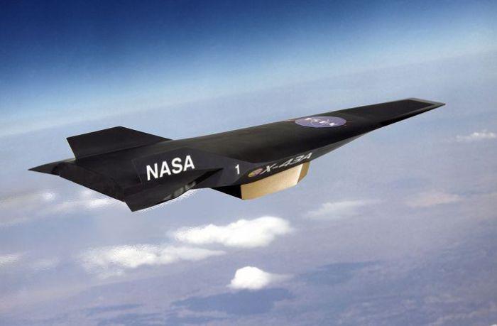 Экспериментальный гиперзвуковой беспилотный летательный аппарат NASA X-43
