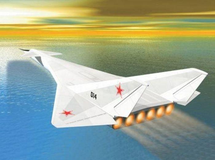 Проект советского стратегического бомбардировщика М-30, использовавшего ядерные силовые установки.