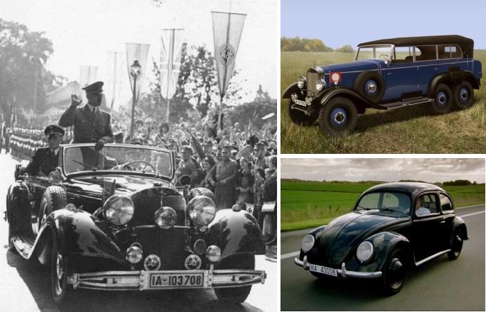 Автомобили Адольфа Гитлера.