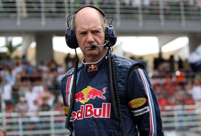 Эдриан Ньюи – гений аэродинамики, конструктор болидов Формулы-1.