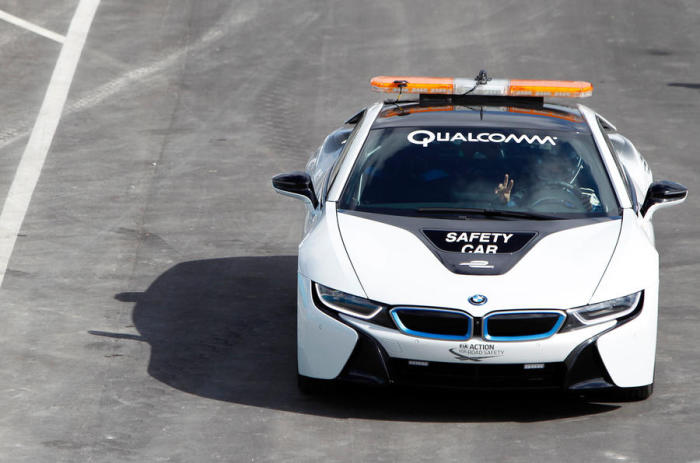 BMW i8 Safety Car �� �����.