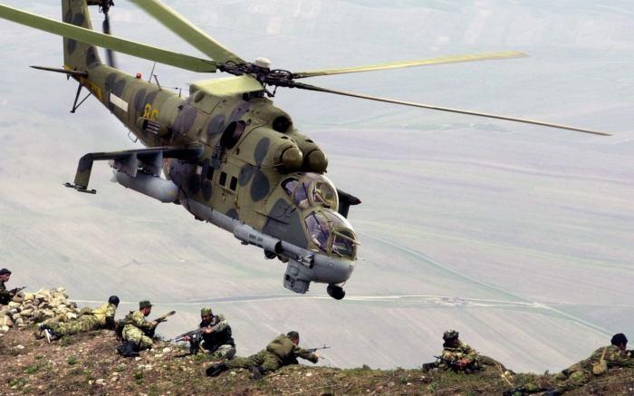 Ми-24 – вертолет непосредственной поддержки войск. | Фото: rostec.ru.