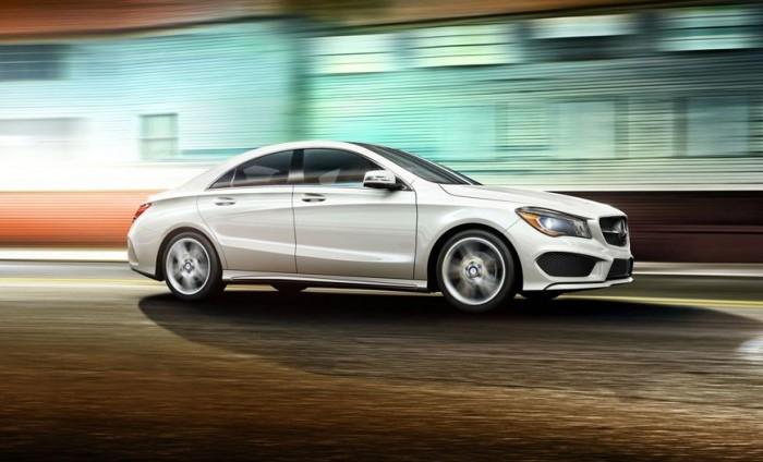 Mercedes-Benz CLA – компактный автомобиль премиум-класса.