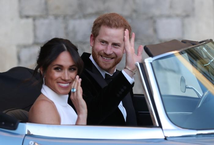 Молодожены британской королевской семьи - герцог и герцогиня Сассекские. | Фото: zig.com.