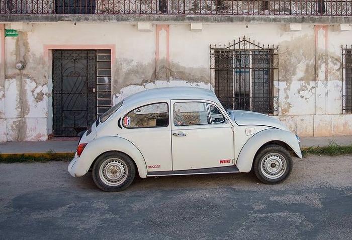 Мексиканский «жук» Volkswagen Beetle. | Фото: fishki.net.
