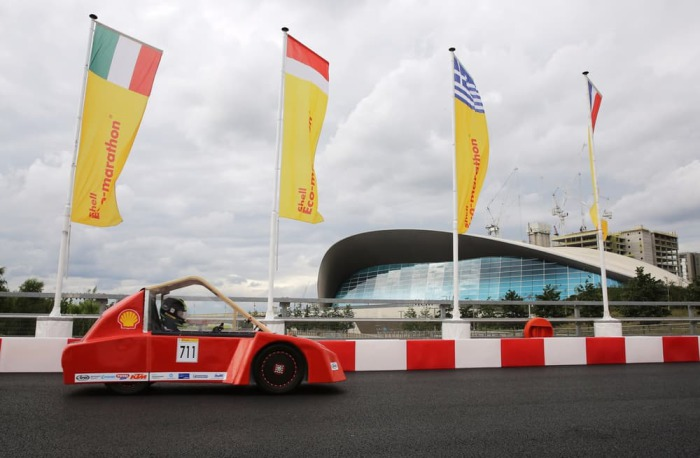 Space Taxi, аккумуляторный электрический прототип австрийской команды HTL-Ried Racing Team.