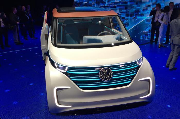 Минивэн-электрокар Volkswagen Budd-e.
