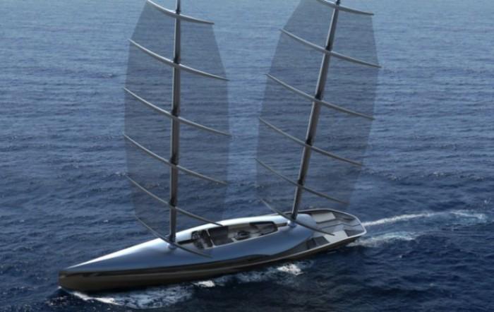 Парусная яхта Cauta от дизайнера Тимура Бозка.