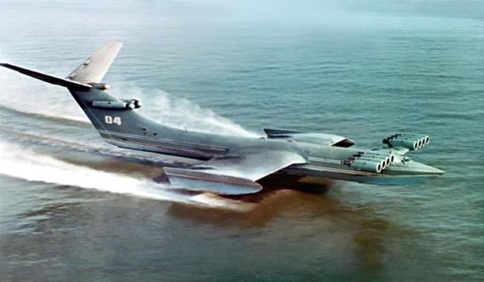 «Каспийский монстр» - не самолет, а летающий корабль.