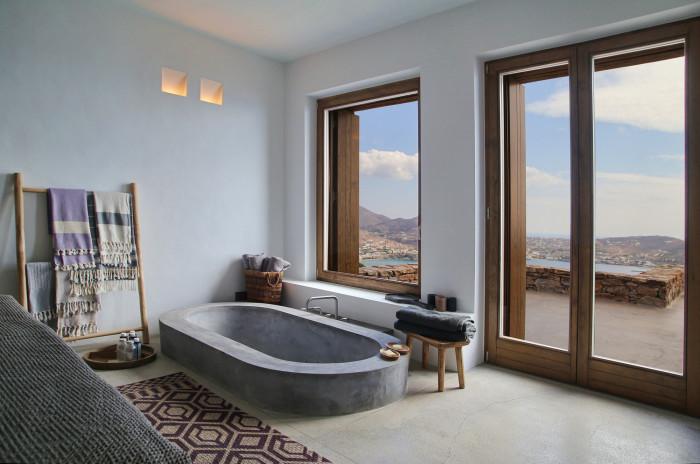 Syros Summer House. Ванная комната.