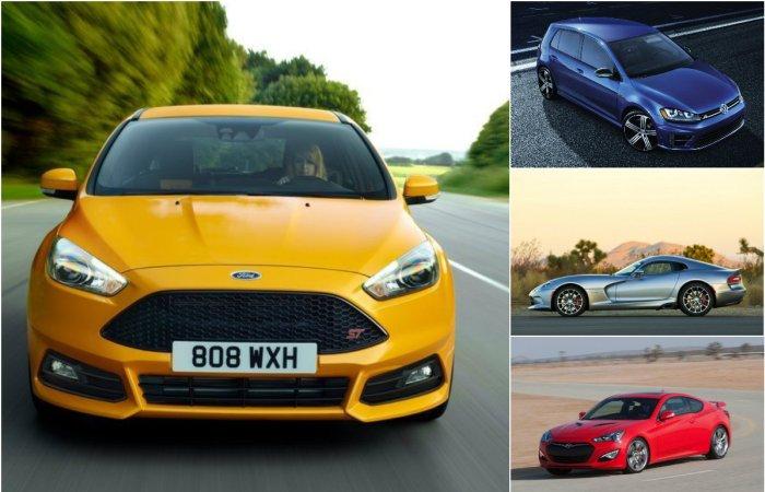 Десятка самых дешевых мощных автомобилей.