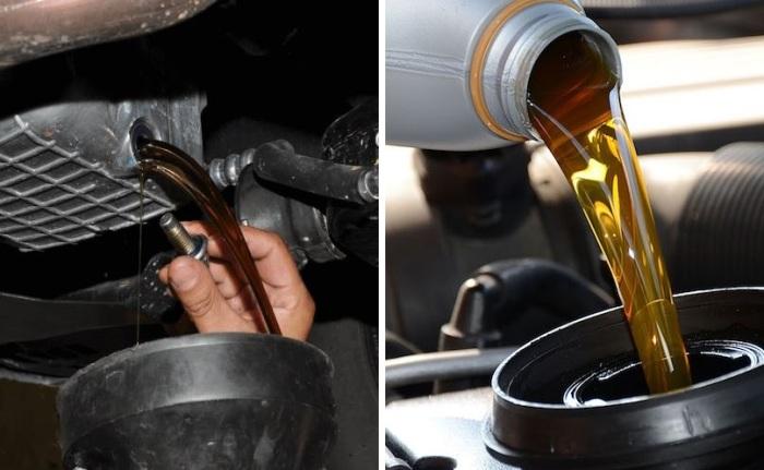 Менее вязкое масло позволяет мотору выдавать больше мощности.