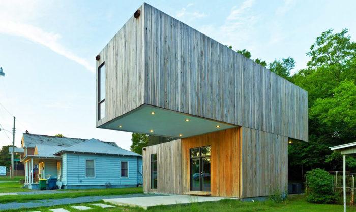 Архитекторский проект студентов школы Fay Jones School of Architecture and Design.