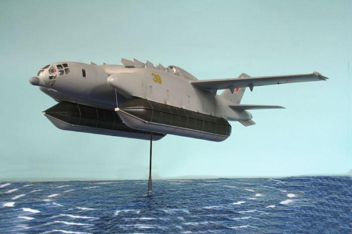 Изначально ВВА-14 проектировался с возможностью вертикального взлета и посадки.