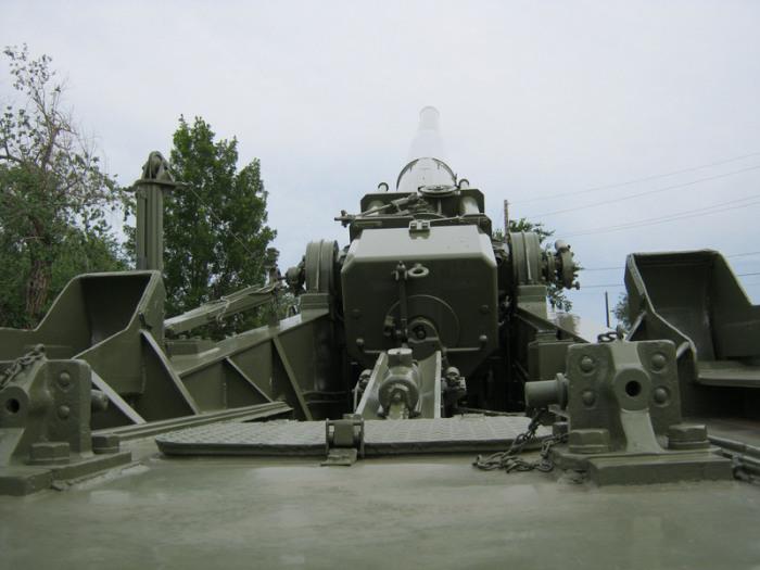 Пушка «Атомная Энни» в музее Форт Силл, Оклахома, США.