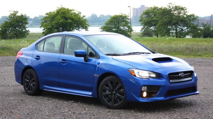 Экономичный Subaru Impreza WRX.