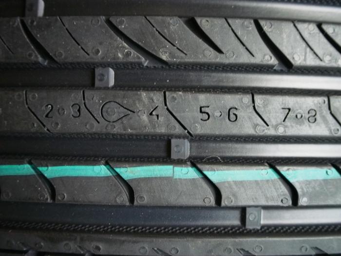 Индикаторы износа шин Nokian Hakka Green. | Фото: m.onlinetrade.ru.
