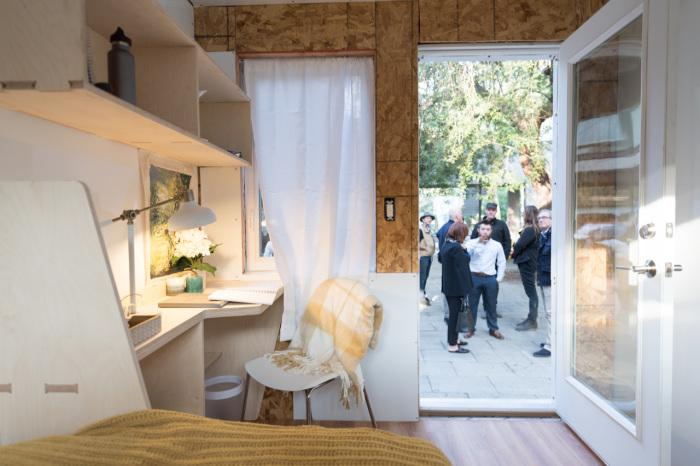 Дом проекта Homes for Hope построен из самых простых и дешевых материалов.