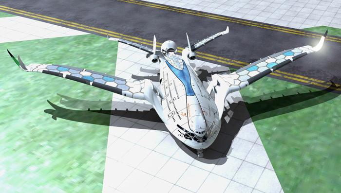 Project Eagle – пассажирский лайнер будущего. | Фото: robbreport.com.