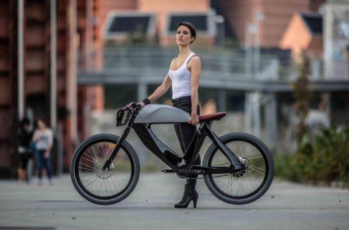 Прекрасный дизайн итальянского велосипеда SPA Bicicletto.