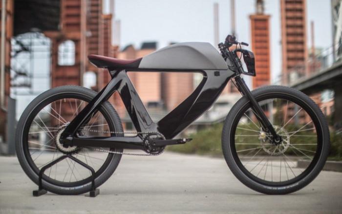 Стильный карбоновый велосипед SPA Bicicletto.