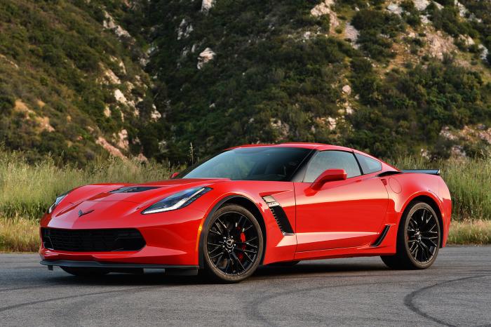 Спортивный Corvette получил оценку за надежность: -178.