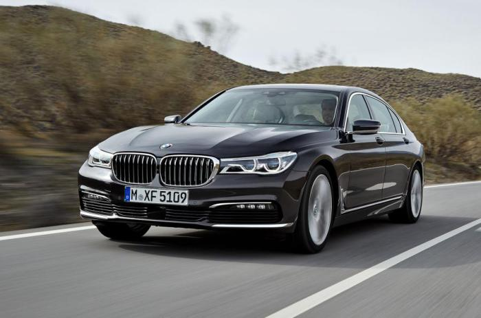 Флагман компании - новый BMW 7 series.