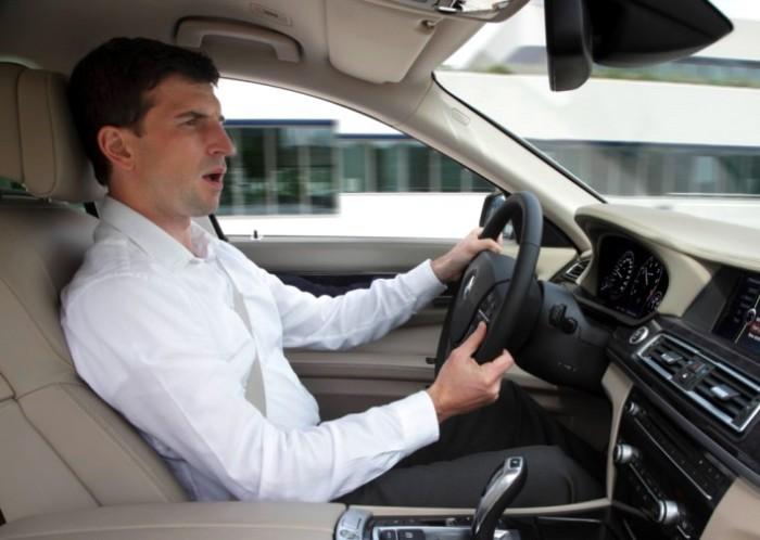 Система распознавания речи в BMW.