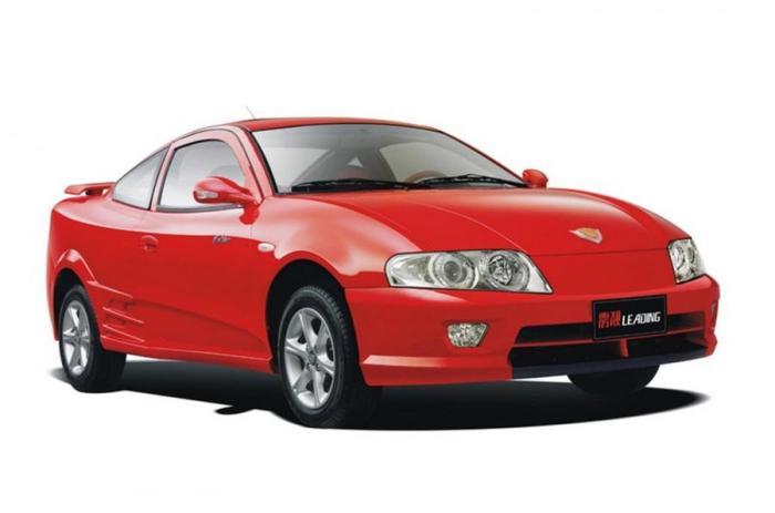 Китайское спортивное купе Geely Beauty Leopard (2003-2006 гг.)
