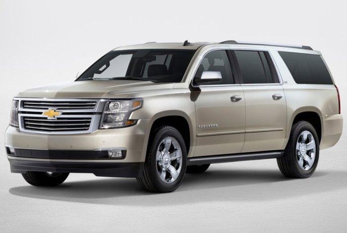 Рейтинг надежности внедорожника Chevrolet Suburban: -154.