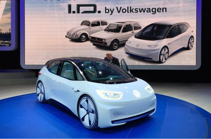 С мотором в 168 л.с. электрокар Volkswagen ID может проехать от 400 до 600 километров.