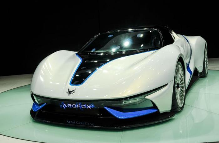 Дизайн BAIC Arcfox-7 выполнен в стиле лучших итальянских кузовных фирм.