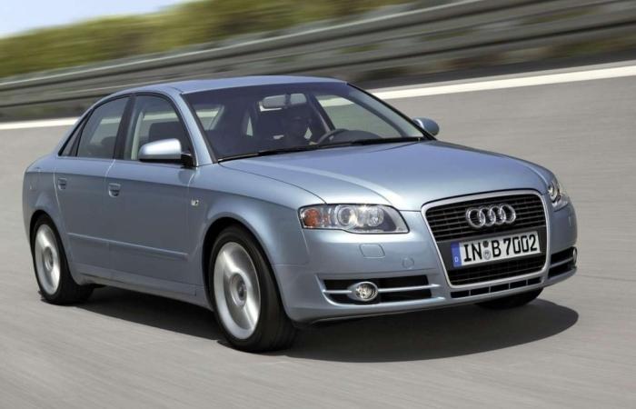 Немецкий полноприводный седан Audi A4 Quattro B7. | Фото: autoevolution.com.