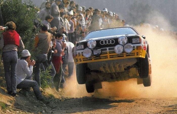 Audi Sport Quattro S1 - запрещенный автомобиль раллийной группы В.