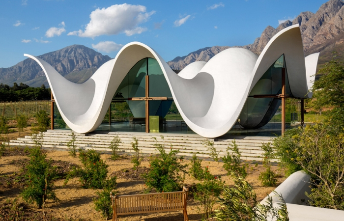 Bosjes Chapel - часовня в районе Витценберг, ЮАР.