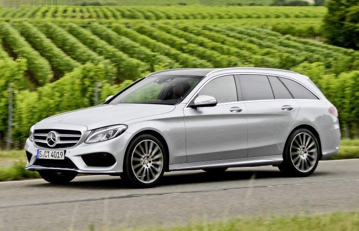 Практичный и динамичный универсал Mercedes-Benz C-Class Wagon.