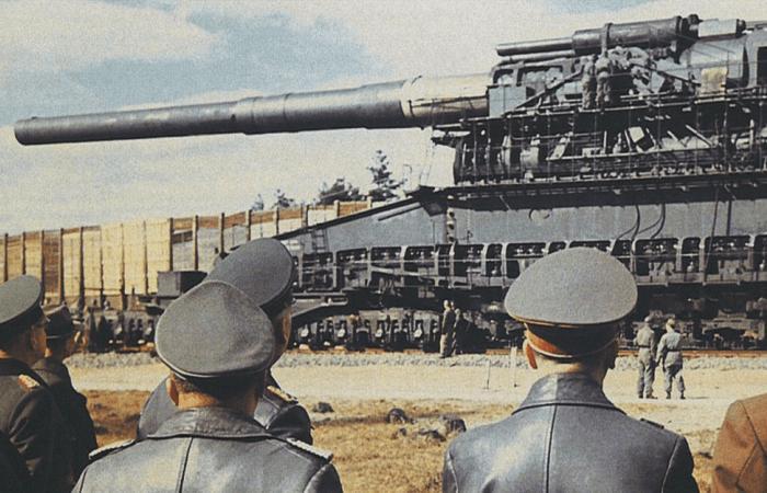 Самая грозная пушка Второй мировой войны.