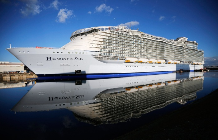 Harmony of the Seas – самое большое круизное судно в мире. | Фото: luxuriousmagazine.com.