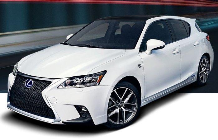 Компактный хэтчбек Lexus CT 200h – один из самых надежных новых автомобилей по версии Consumer Reports.