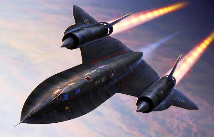 Lockheed SR-71 Blackbird – самый быстрый самолет в мире. | Фото: aviationfigure.com.