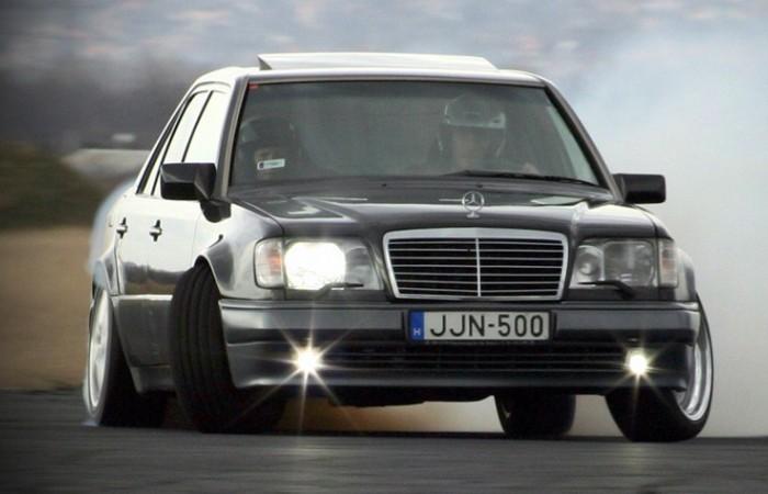 Mercedes-Benz Е-Class – один из самых известных «волков».