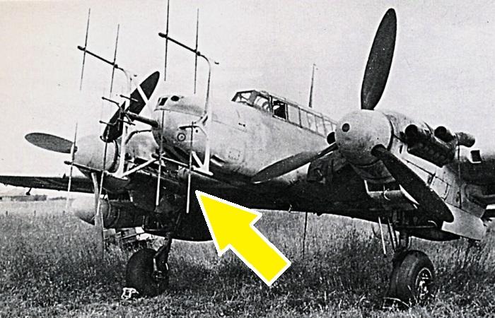 Немецкий истребитель Messerschmitt Bf.110-G-4/R3 периода Второй мировой войны. | Фото: asisbiz.com.